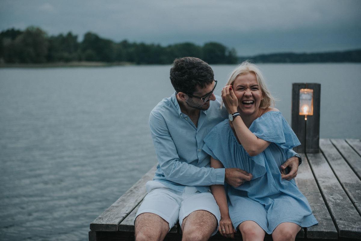 Anniversary shots in Masuria - Claudia and Peter