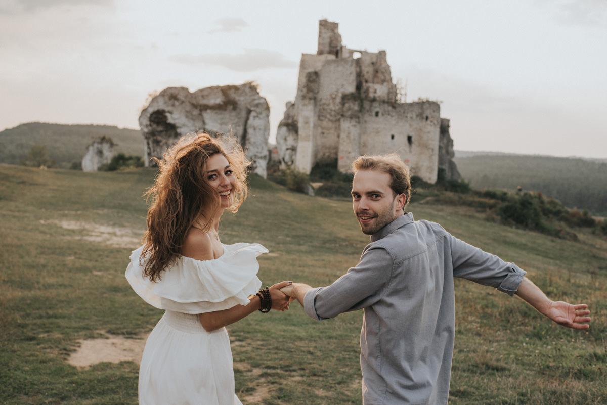 sesja ślubna Zamek Mirów