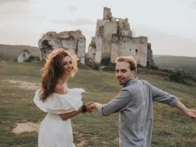 Sesja ślubna Zamek Mirów, Monika & Maciej