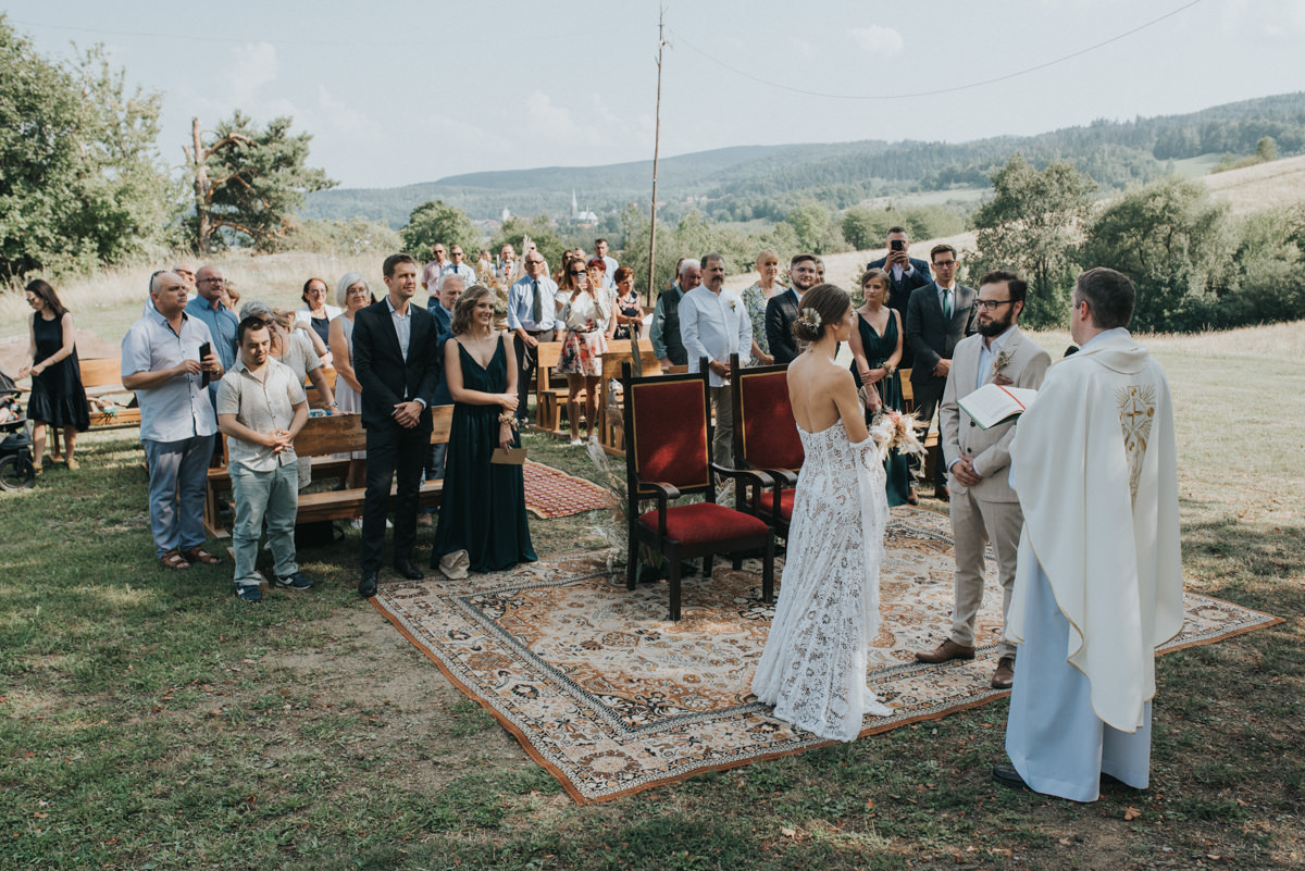 ślub w stylu boho