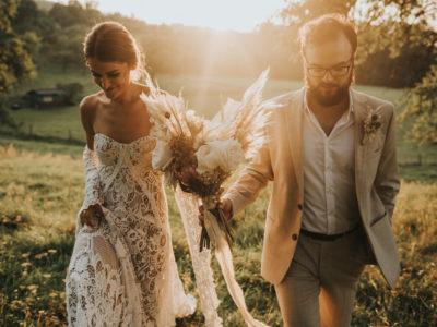 Ślub w stylu boho, wesele w Starej Kruszarni, Magdalena & Józef